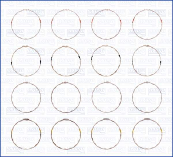 Image of Ajusa Cilinderbus/voering O-ring 60001600 60001600_256