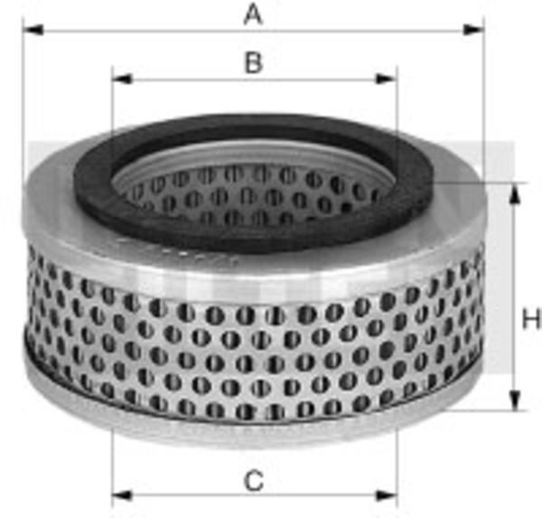 Image of Mann-filter Compressor luchtfilter C 33 009 c33009_279