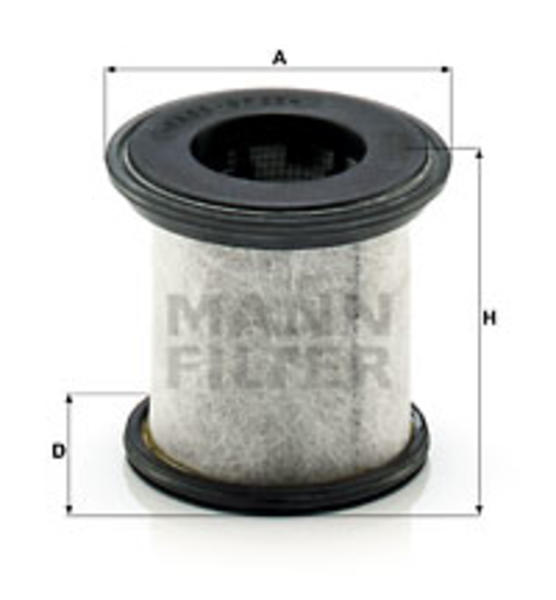 Image of Mann-filter Carterontluchting filter LC 10 001 X