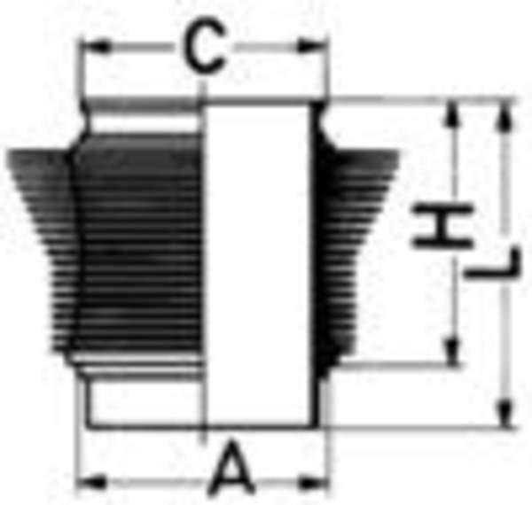 Image of Kolbenschmidt Cilinderbus/voering 88451110