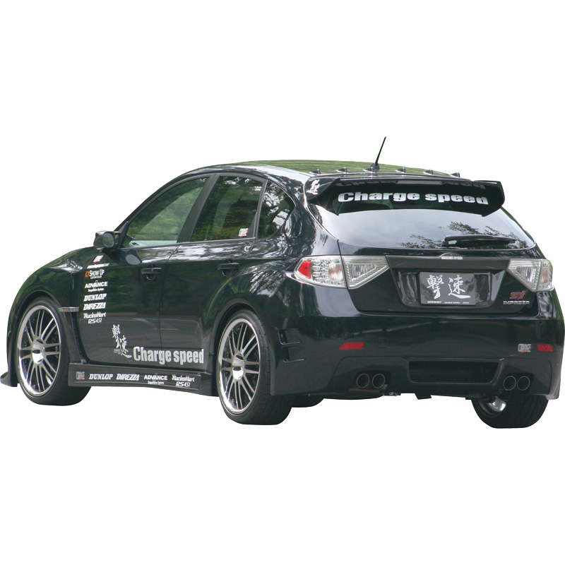 Image of Charge Speed ABumper SB Impreza WRX STi 08- Type CS 5252