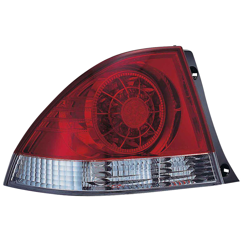 Image of Mijnautoonderdelen AL LE IS200 98-05 LED Red/Clear DL LXR01L