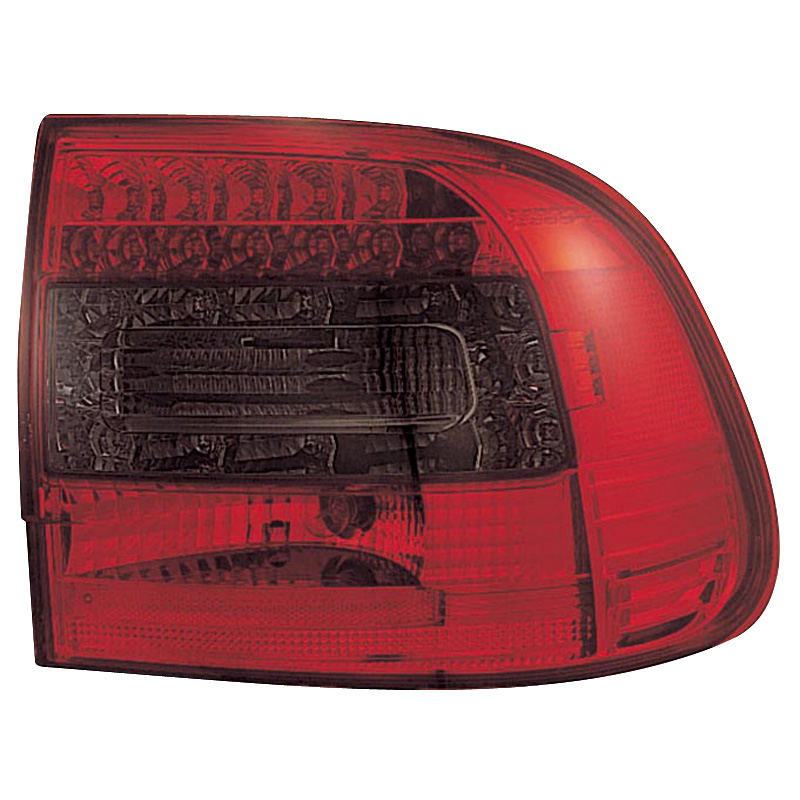 Image of Mijnautoonderdelen AL PO Cayenne 03-08 LED Red/Smoke DL POR01RS