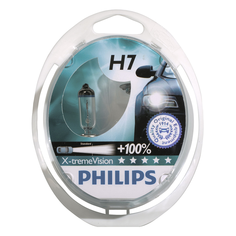 Image of Philips X-Treme Vision H7 55W/12V 2pcs PH H755X